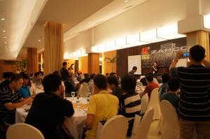 Dinner and presentations
